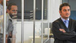 Sven Lau, links; Verteidiger Mutlu Günal, rechts